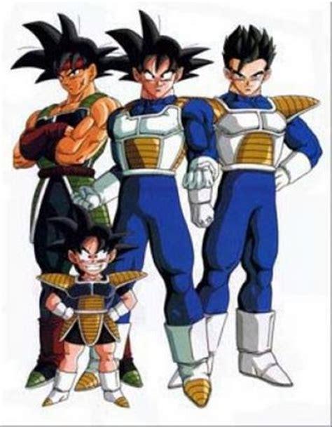 imagenes de la familia de goku familia de goku dragon ball