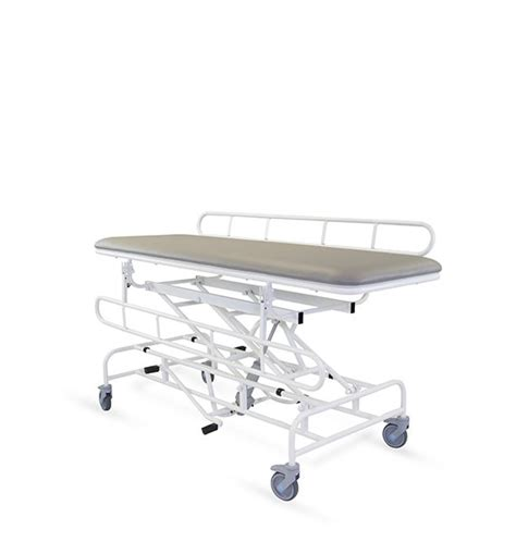 freeway height adjustable changing table transfer trolley