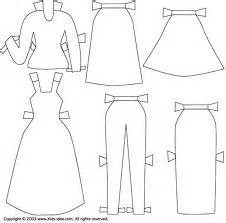 paper doll template with clothes paper doll clothing templates dress up dolls