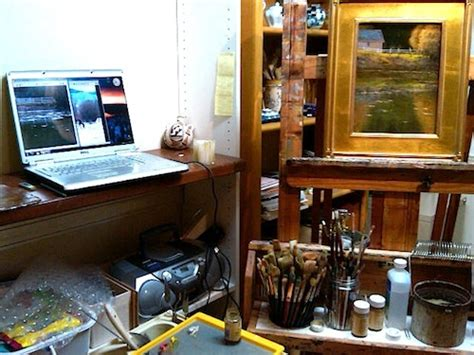 how to make an art studio in your bedroom creating art in small studios
