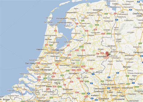 enschede netherlands map enschede map