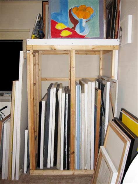 Artwork Storage Rack by I Get By With The Help Of Friends Onehumanbeing
