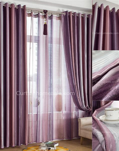 purple drapery panels blackout curtains purple soozone