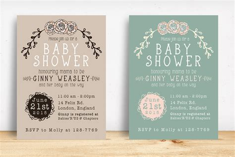 template baby shower psd baby shower invitation invitation templates on creative