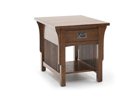 arts and crafts table ls arts and crafts end table steinhafels