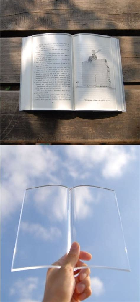 Novel Glass glass book cover