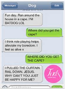 Funny Texts From Dog