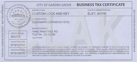 Garden Grove Ca Business License Renewal City Of Garden Grove Ca Business License Application 28