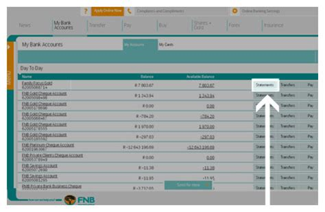 how to view backdated statements how to demos fnb