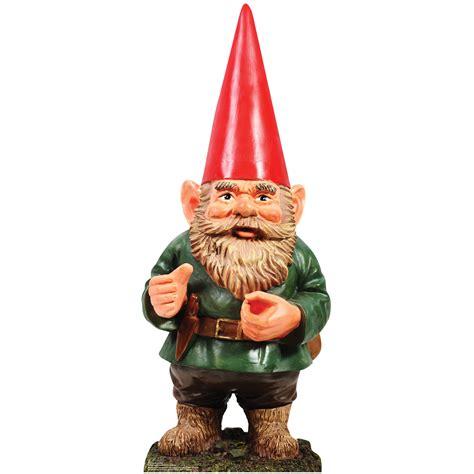 lawn gnome garden gnome cardboard cutout