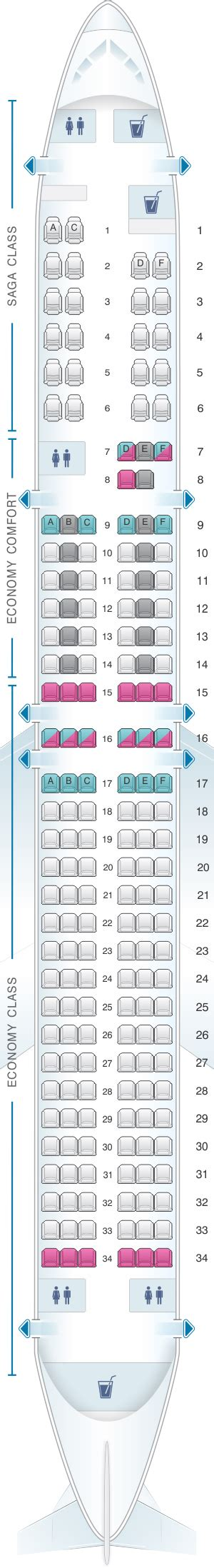 boeing 757 200 seats seat map icelandair boeing b757 200 seatmaestro