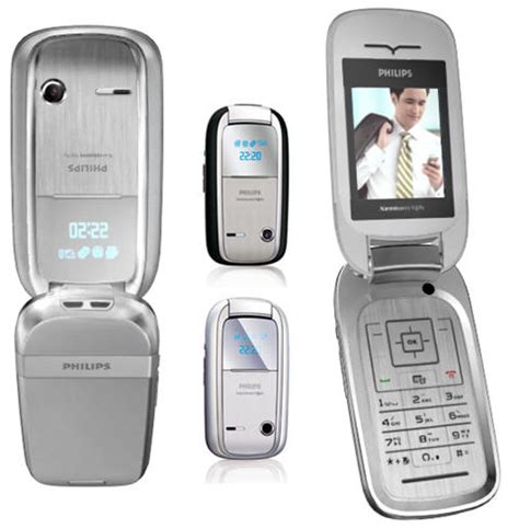 clamshell mobile phones new philips xenium 9x9s clamshell 30 days on stand by