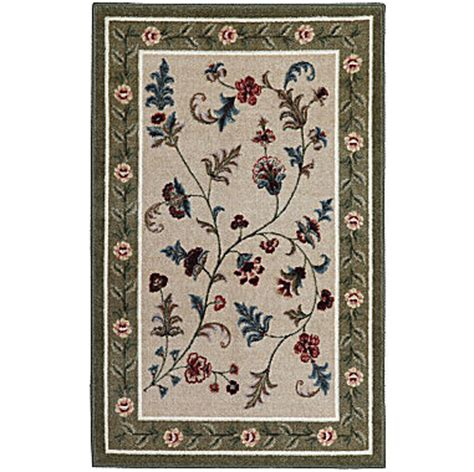 jcpenney washable rugs flower patch washable rectangular rug jcpenney