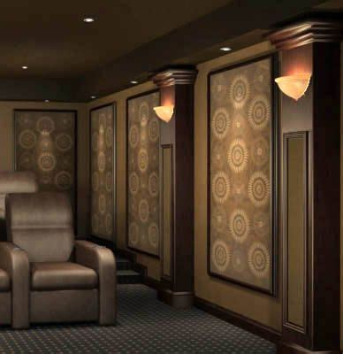 theater room sconce lighting quot home theater wall panel simple sconces quot make acoustic