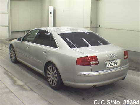 2006 Audi A8 For Sale by 2006 Audi A8 Silver For Sale Stock No 35394 Japanese