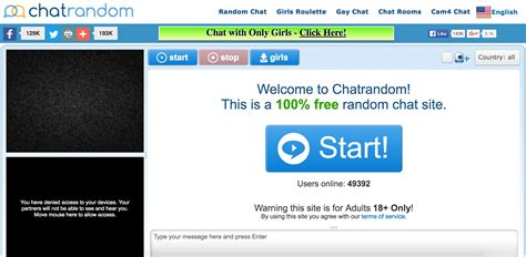 cam chat chatrandom alternatives and similar websites and apps