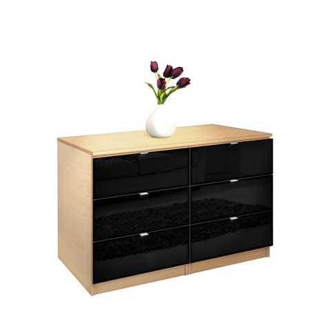 Small Dressers For Small Bedrooms City Dresser 6 Drawer Dresser For Small Bedrooms Contempo Space