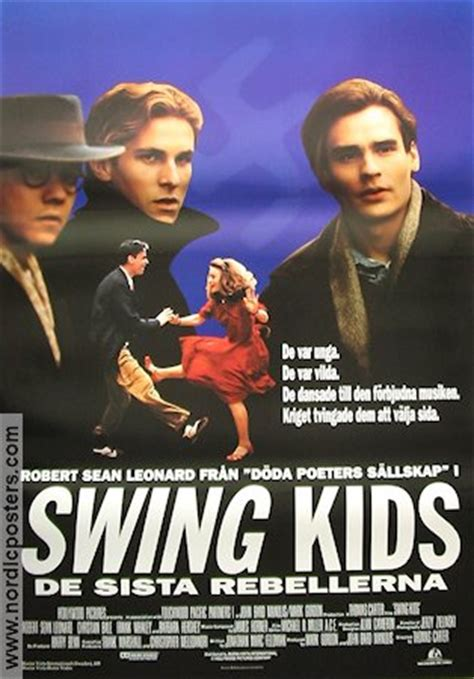swing kids movie review swing kids poster 1993 robert sean leonard original