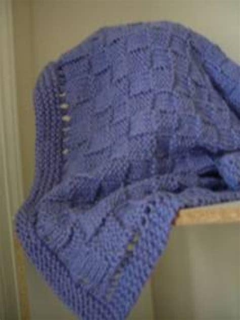 free knitting pattern hair net easy basket weave baby blanket allfreeknitting com