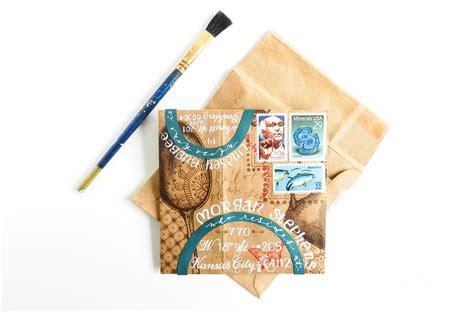 Handmade Envelope - diy envelope glue for handmade envelopes the postman s knock
