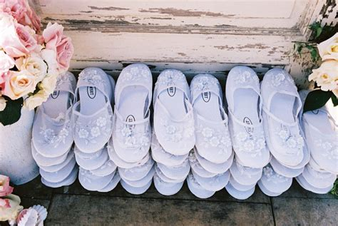 White Slippers For Wedding by Favors Gifts Photos Wedding Slippers Inside