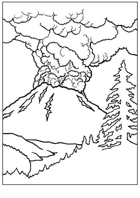 Easy Landscape Coloring Pagesl L