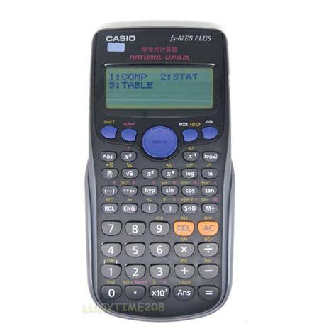 Casio Calculator Fx 82 Es Plus casio fx 82es scientific calculator fx 82es plus black
