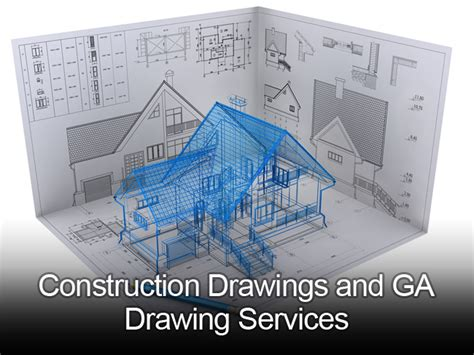 construction ga drawing services outsourceindia