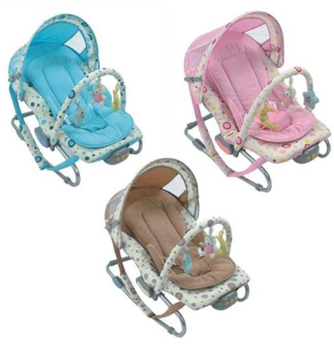 baby bouncer rocker chair vibration soothing toys