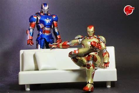 Bandai Shf Iron 3 Iron Patriot firestarter s review s h figuarts iron patriot