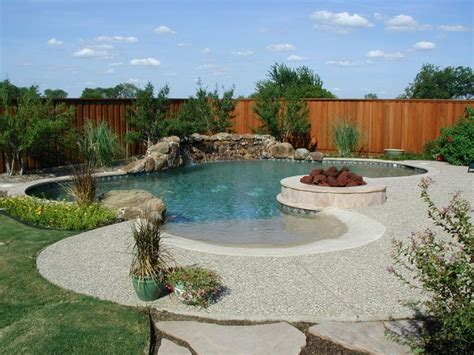 Backyard Pools With Entry 17 Best Ideas About Zero Entry Pool On