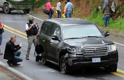 armored jeep after an attack by mexican cartel u s diplomatic vehicle attacked by mexican federal police
