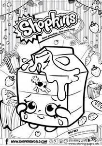 Print shopkins split milk coloring pages free printable