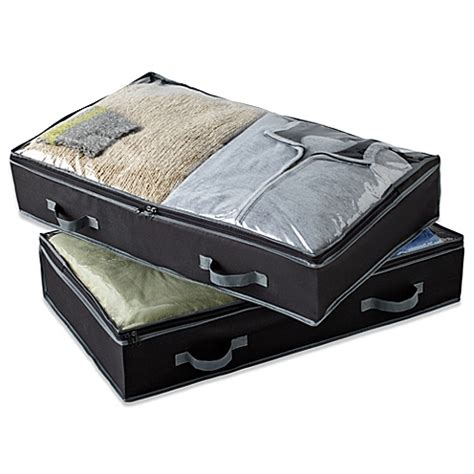 bed bath and beyond under bed storage 10 best underbed storage items in 2018 underbed storage drawers at every price