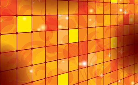 Home Design Decor Shopping Website orange squares background sparkling vignette decoration
