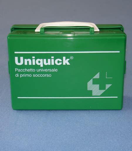 cassetta pronto soccorso ufficio taumediplast s r l prodotto uniquick kit di primo