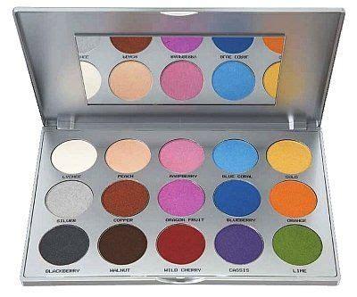 Eyeshadow Viva Palette kryolan viva brilliant color medley palette review