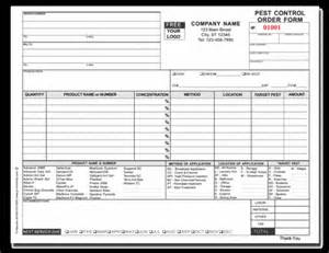 pest forms templates best photos of sle pest invoice template free