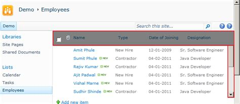 css style scrollbar in div amit phule sharepoint 2010 jquery list scrolling view
