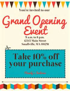 grand opening flyer template free 403 forbidden
