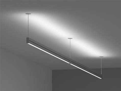 suspended light fixtures linear led suspension light acdc dynamics online