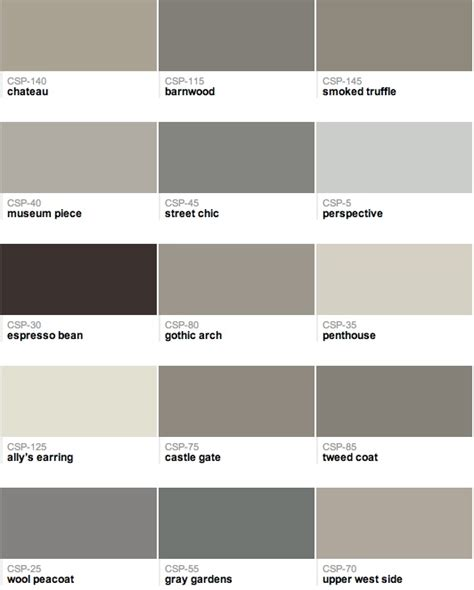 110 best images about paint colors on paint colors sherwin williams greige