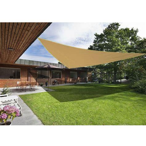 sun shade sail garden patio awning canopy sunscreen 98 uv