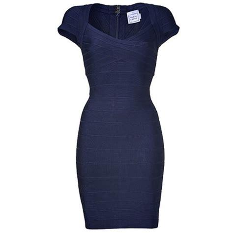 Vannesa Dress Series 3 Original Brand By Rara Busana dress bandage dress blue dress navy sleeves
