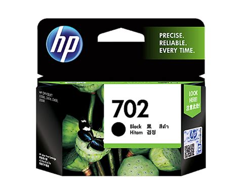 Hp 702 Black Tinta Printer by Tinta Toner Printer Hp 702 Black Ink Cartridge Cc660aa