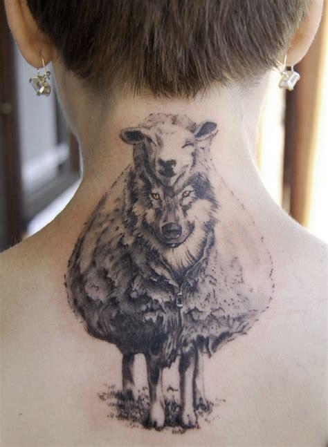 tatuajes de ovejas para los que han reconducido su camino