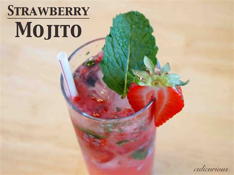 mojito recipe strawberry mojito recipe culicurious