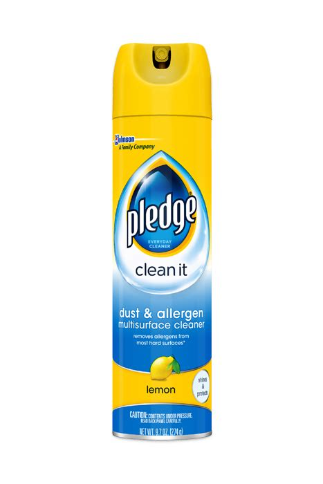 couch cleaner spray pledge 174 dust allergen furniture spray pledge 174