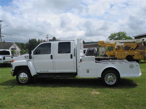 chevrolet kodiak  crew cab conversion  hauler