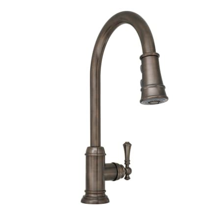 mirabelle kitchen faucets mirabelle mirxcam100orb rubbed bronze amberley pullout spray kitchen faucet with high arch